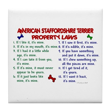 American Staffordshire Terrier Property Laws 2 Til