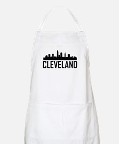 Skyline of Cleveland OH Apron