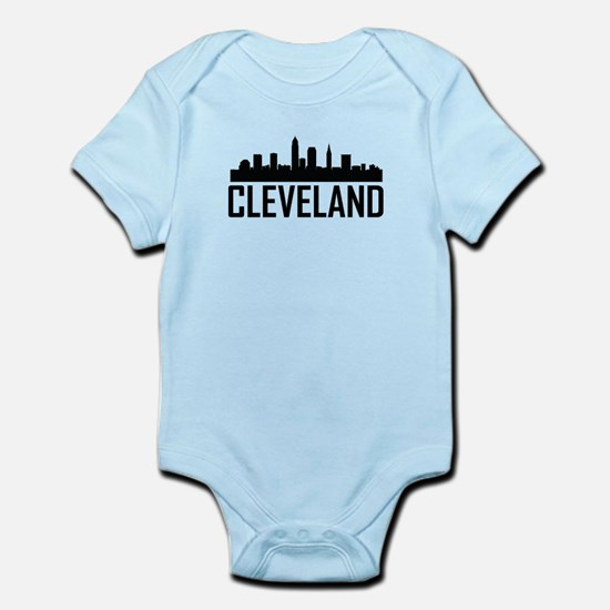 Skyline of Cleveland OH Body Suit