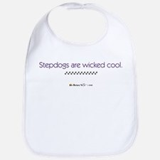 Stepdogs are Wicked Cool. Bib