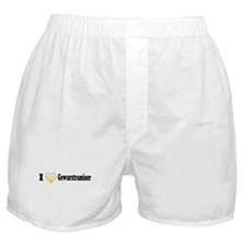 I Love Gewurztraminer Boxer Shorts