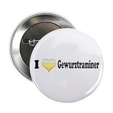 """I Love Gewurztraminer 2.25"""" Button"""