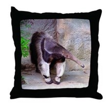 Giant Anteater Front Throw Pillow