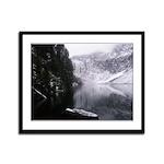 SERENE LAKE Framed Panel Print