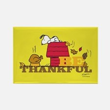 Peanuts - Be Thankful Full Bleed Magnets