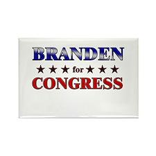 BRANDEN for congress Rectangle Magnet