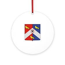 Beckford Crest Keepsake (Round)