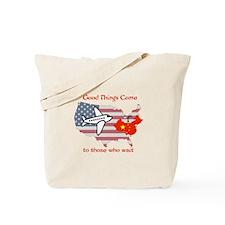 Cute China adoption Tote Bag