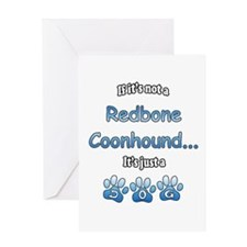 Coonhound Not Greeting Card