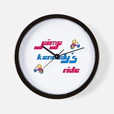 Pimp Kennedy's Ride Wall Clock