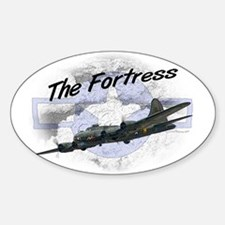 Fortress Aircraft Sticker (Oval)