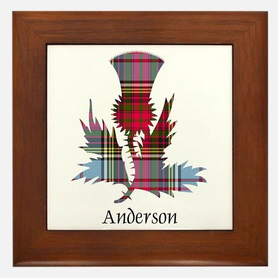 Thistle - Anderson Framed Tile