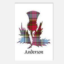 Thistle - Anderson Postcards (Package of 8)