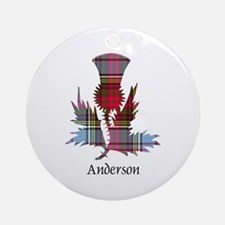 Thistle - Anderson Round Ornament