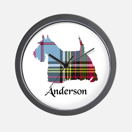 Terrier - Anderson Wall Clock