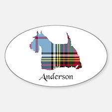Terrier - Anderson Sticker (Oval)