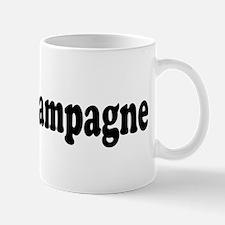 I Love Champagne Mug