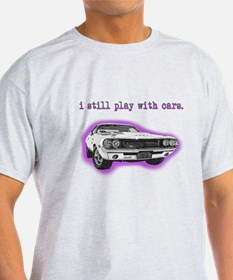 dodge_challenger_purple T-Shirt
