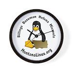 Wall Clock Montana Linux