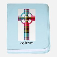 Cross - Anderson baby blanket