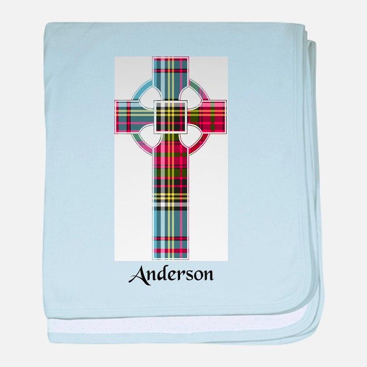 Cross - Anderson baby blanket