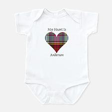Heart - Anderson Onesie
