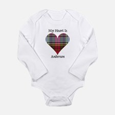 Heart - Anderson Long Sleeve Infant Bodysuit