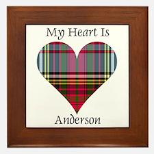 Heart - Anderson Framed Tile