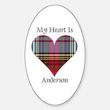 Heart - Anderson Sticker (Oval)