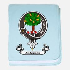 Badge - Anderson baby blanket