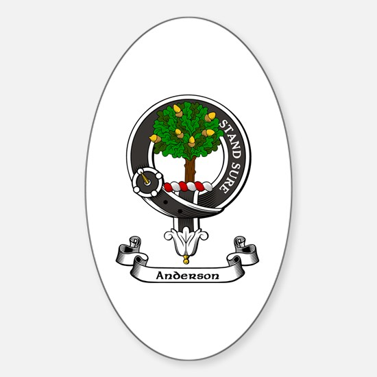 Badge - Anderson Sticker (Oval)