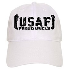 Proud USAF Uncle - Tatterd Style Baseball Cap