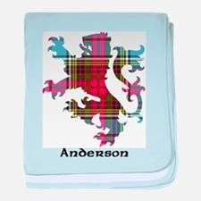 Lion - Anderson baby blanket