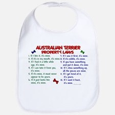 Australian Terrier Property Laws 2 Bib