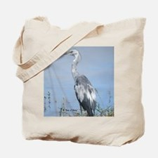 Blue Heron by the Water Tote Bag