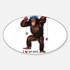 I Heart Yo-yos Decal