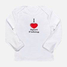Sport Fishing Long Sleeve T-Shirt
