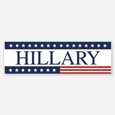 Hillary Clinton Bumper Bumper Bumper Sticker