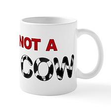 Great Dane Not a Baby Cow Mug