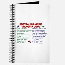 Australian Kelpie Property Laws 2 Journal