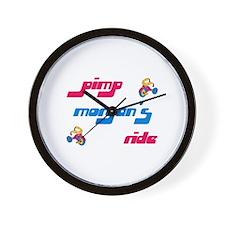 Pimp Morgan's Ride Wall Clock