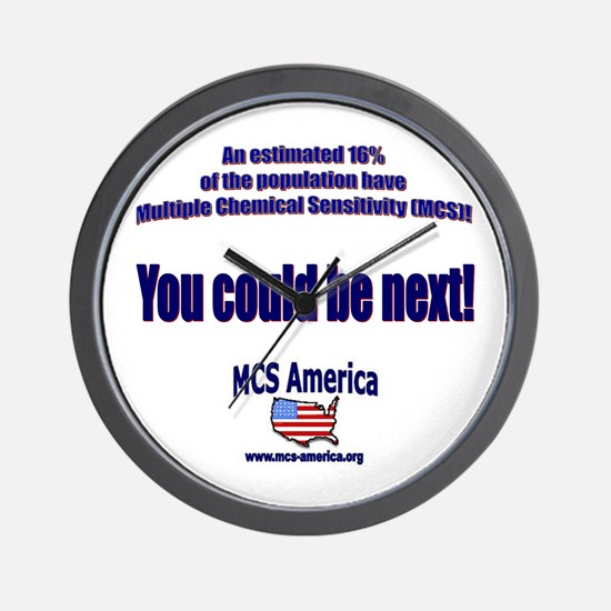 MCS America - You Could Be Ne Wall Clock