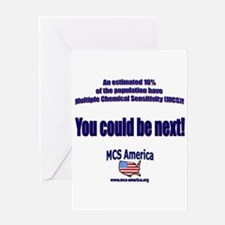 MCS America - You Could Be Ne Greeting Card