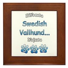 Vallhund Not Framed Tile