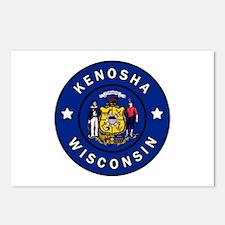 Kenosha Wisconsin Postcards (Package of 8)