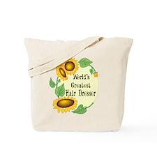 World's Greatest Hair Dresser Tote Bag