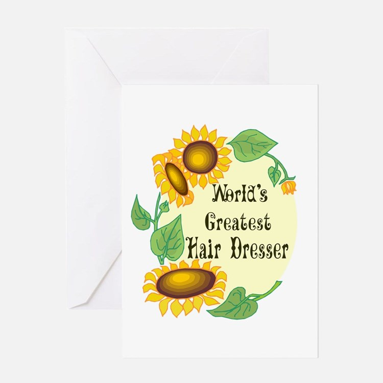 World's Greatest Hair Dresser Greeting Card