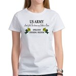US Army - OEF - Land of the F Women's T-Shirt