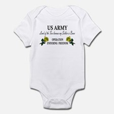 US Army - OEF - Land of the F Infant Creeper