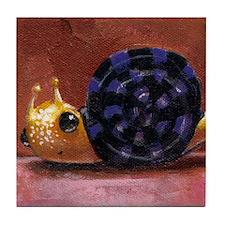 Mr. Snail Tile Coaster